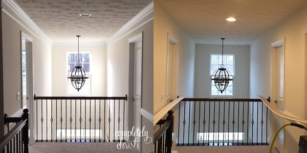 Crown molding and chair rail
