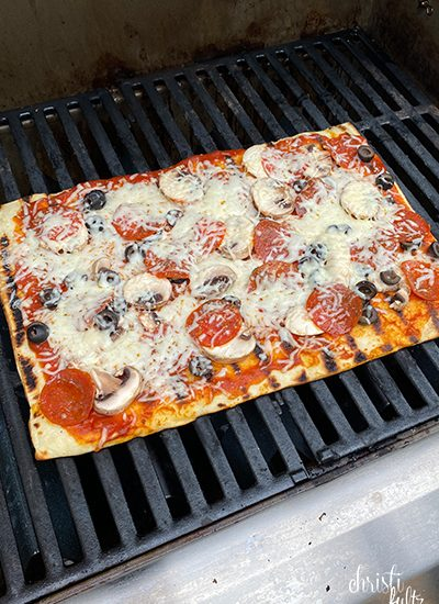 simple grilled pizza recipe