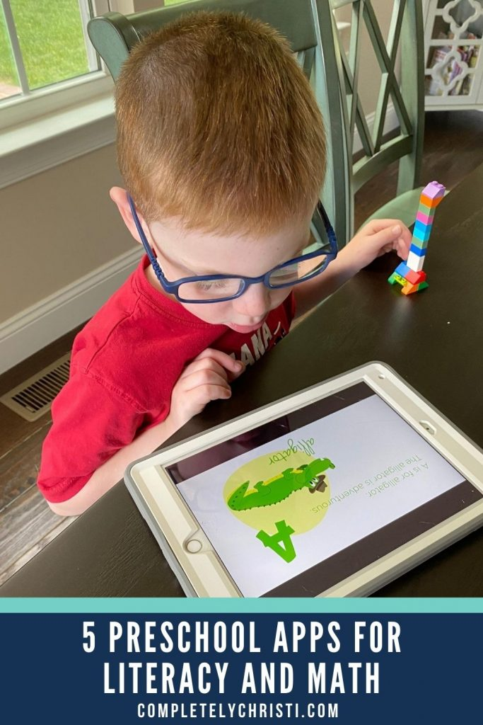 5 of the best preschool learning apps to practice early literacy and math skills on the iPad.