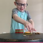 KiwiCo Kiwi Crate Disk Launchers Review + Discount. Grab your little learner this curated box for educational and fun early learning toys.